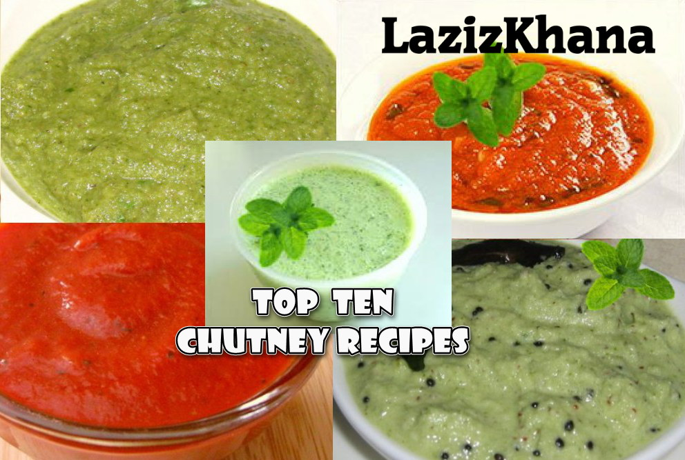 Top 10 Chutney Recipes in Hindi