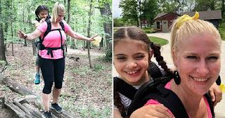 Δασκάλα κουβάλησε παράλυτη μαθήτρια στην πλάτη της επί 2 μέρες για να την πάρει μαζί στη σχολική εκδρομή