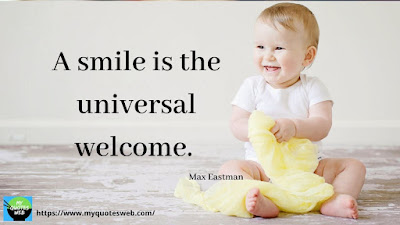 Best Quotes on Smile - A smile is the
