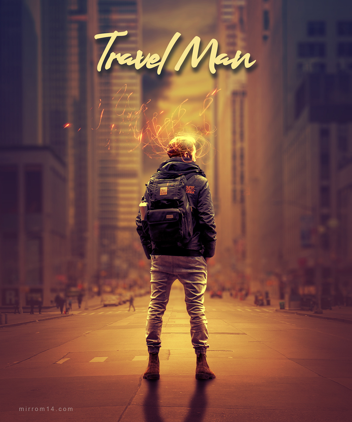 Create a Fantasy Travel Man Photo Manipulation in Photoshop