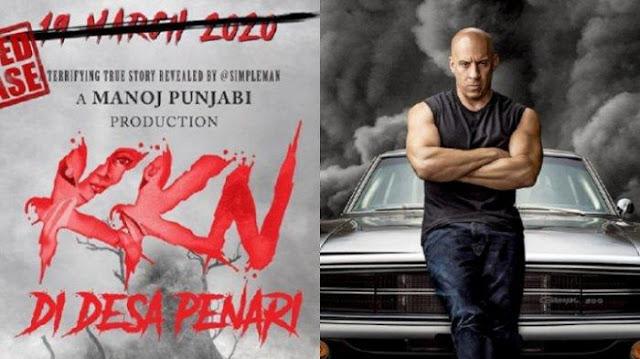 Fast & Furious 9 Ditunda Tayang 2021, KKN Desa Penari Juga Ditunda Akibat Covid-19