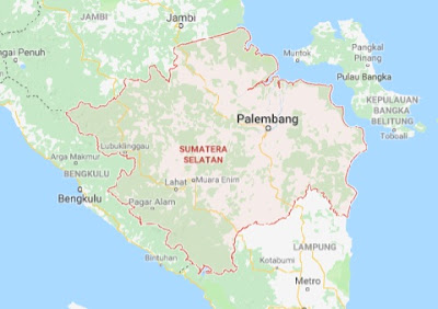 Peta Buta Sumatera Selatan