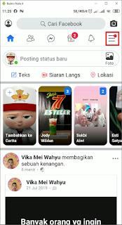 Cara Mode Gelap Facebook di Android
