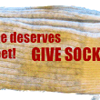 Jan. 22/16-- 1702 pairs of socks donated