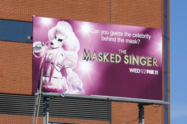 Masked Singer Poodle billboard