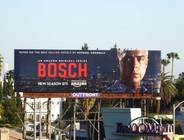 Bosch season 2 Amazon billboard
