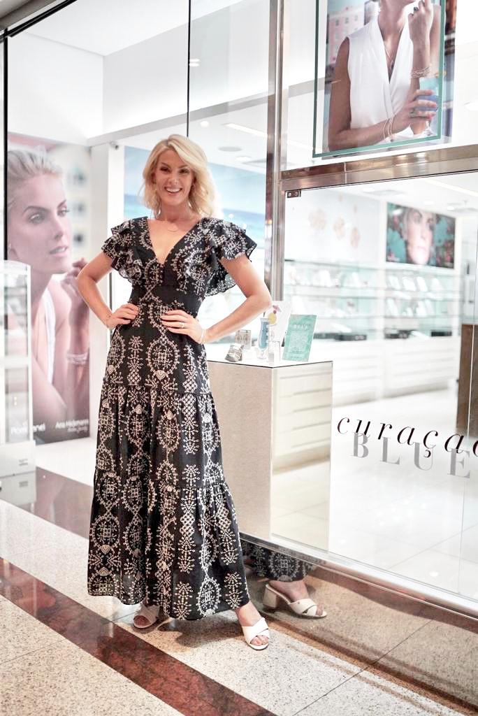 Minas Shopping recebe apresentadora Ana Hickmann em evento exclusivo da Rommanel