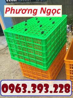 fc15f8ceb0f349ad10e2 - Sọt nhựa 26 bánh, sọt nhựa HS015, sóng nhựa công nghiệp