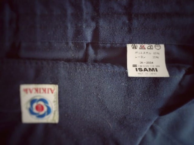 Check The Wash Care Label in Your New Hakama