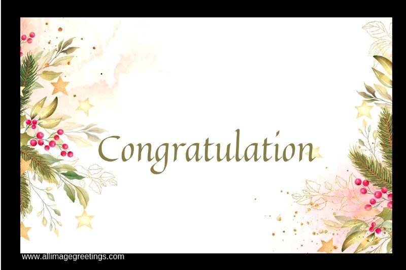 congratulations wish image