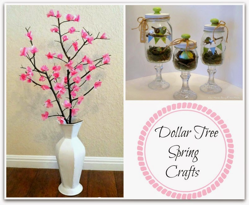 Our Home Away From Home Spring Crafts Using Dollar Tree Items Part 2