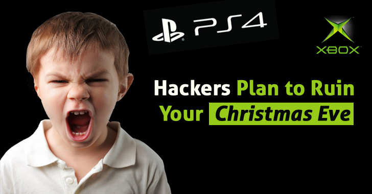 Hackers Plan to Ruin Christmas Eve for Millions of PlayStation and Xbox Live Gamers