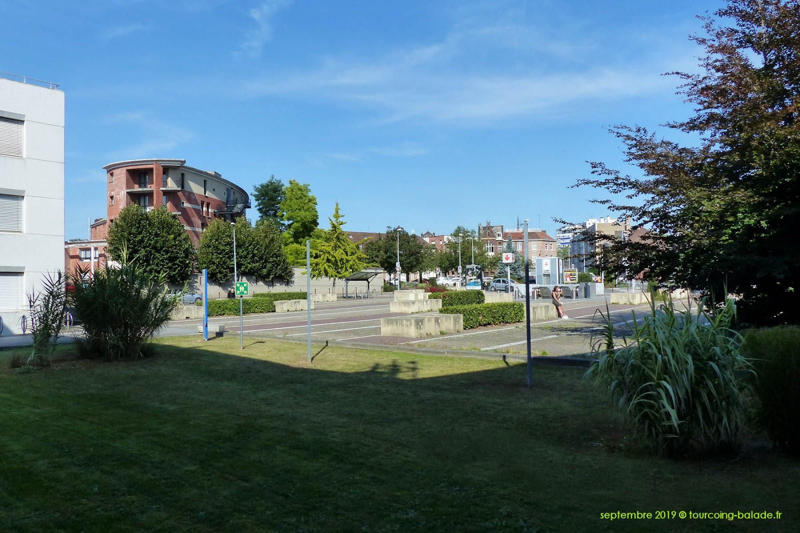 Place Sébastopol, Tourcoing 2020