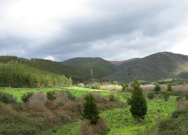 The Monchique Mountains