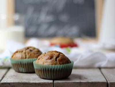 muffin con feta e olive kalamata