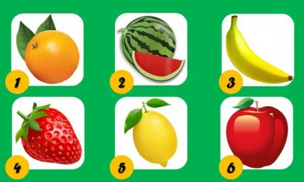 Выберите фрукт и откройте для себя важные аспекты вашей жизни и вашей личности