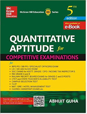 Download Free eBook PDF Abhijit Guha Quantitative Aptitude for Competitive Examinations