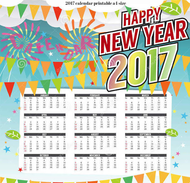 download year 2017 calendars, full year 2017 calendars kollaktion