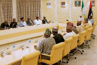 APC Governors Endorse Buhari For A Second Term