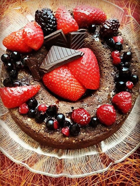 vegan easter - choco cake - a bella e o mundo