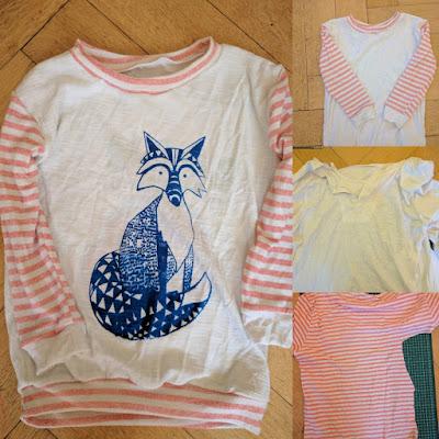 Upcycling Kindermode Runzelfuesschen Kinderkleidung naehen Naehidee fuer Kinder Elternblog