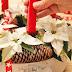 Riciclare con stile a Natale: centrotavola fai da te