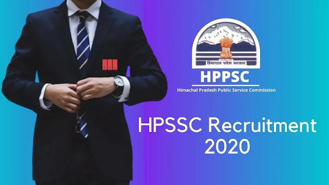 HPPSC Vacancy 2020 Notification