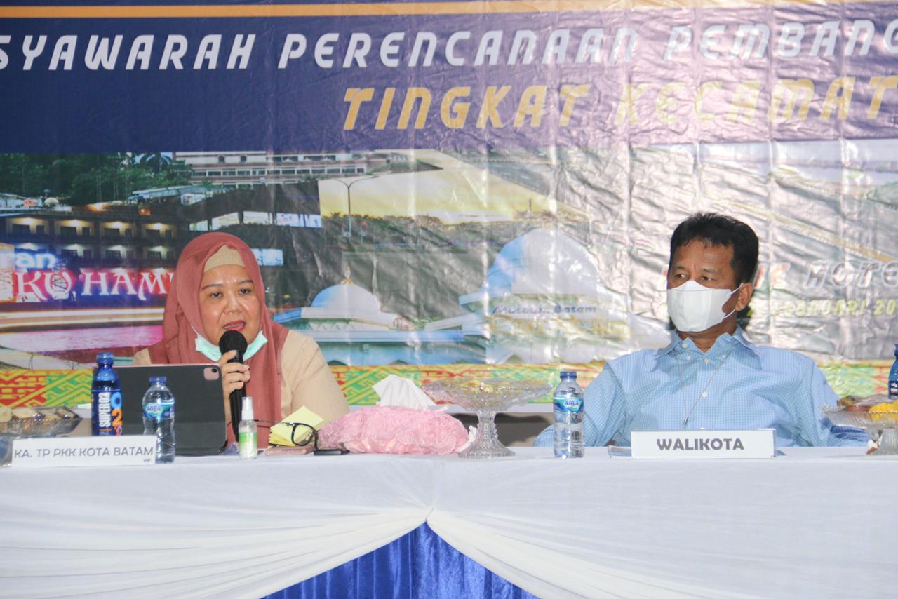 Walikota Batam Hadiri Musrenbang di ecamatan Nongsa
