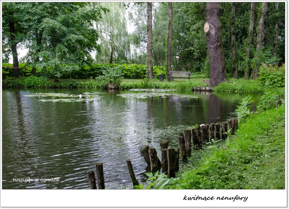 Nieborów, park romantyczny