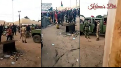 Tension As IPOB Members And Nigerian Soldiers Clash In Imo State (Video)