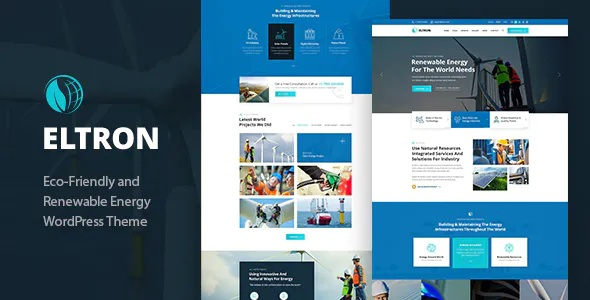 Best Solar Energy WordPress Theme