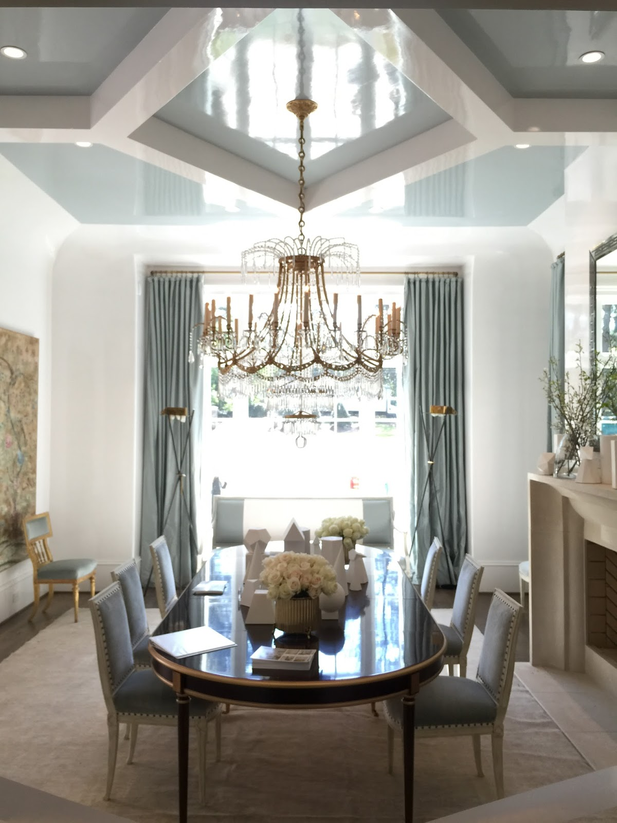 The Dining Room Designed By Suzanne Kasler On Suzanne Kasler Interiors.