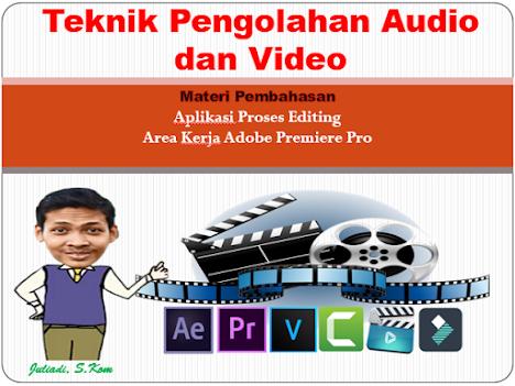 Menyunting video dengan menggunakan perangkat lunak pengolah video