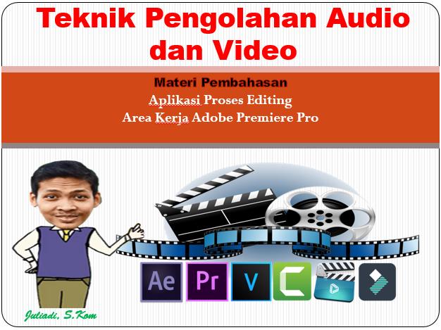 Materi 5 : Menyunting video dengan menggunakan perangkat lunak pengolah video