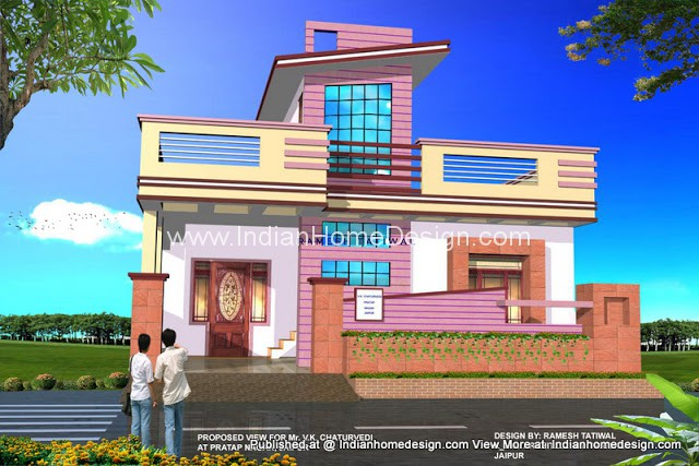 home exterior design architect ramesh tatiwal indian home home design architectural rendering civil