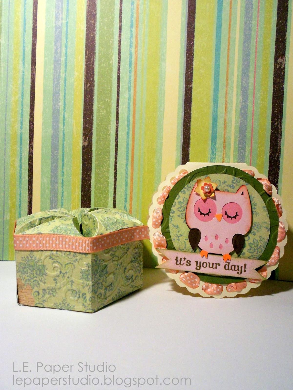 L.E. Paper Studio: My Cricut Craft Room