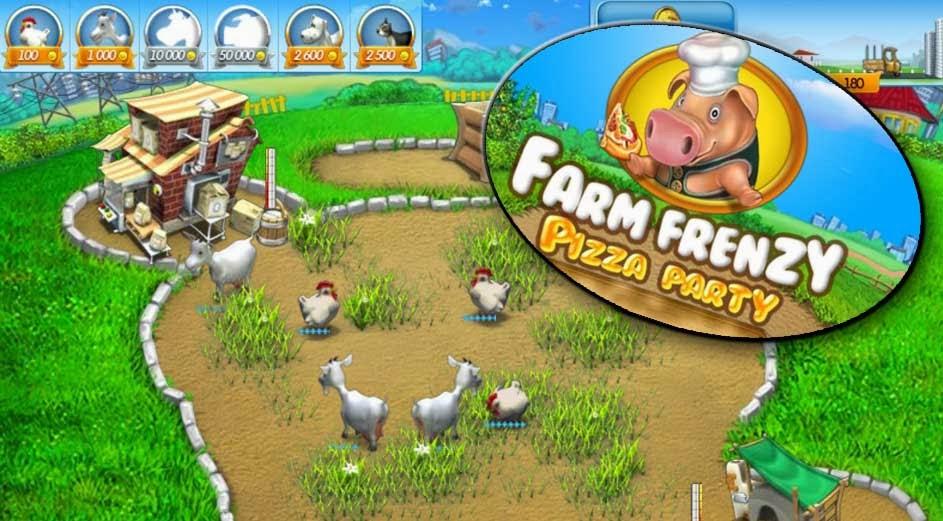 farm frenzy pizza party game nông trại hay trên máy tính