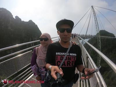 Berjalan Di Skybridge Langkawi