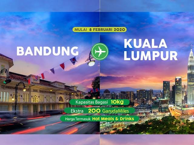 Inilah Jadwal Penerbangan Citilink Rute Bandung - Kuala Lumpur