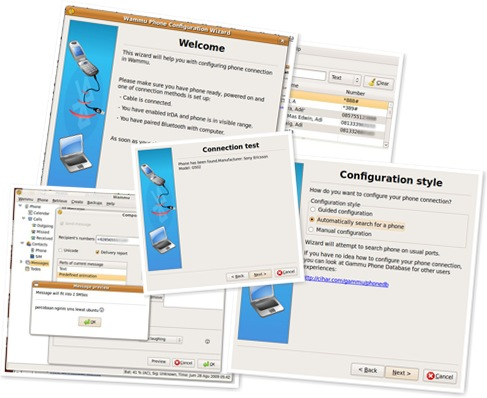 haansspot: How to Make SMS Gateway Using Gammu and Wammu in