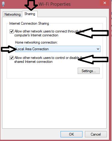 Cara Mengkoneksikan Komputer Ke Wifi : mengkoneksikan, komputer, Sharing, Internet, WIFI/Modem, Menggunakan, Kabel, IT-Jurnal.com