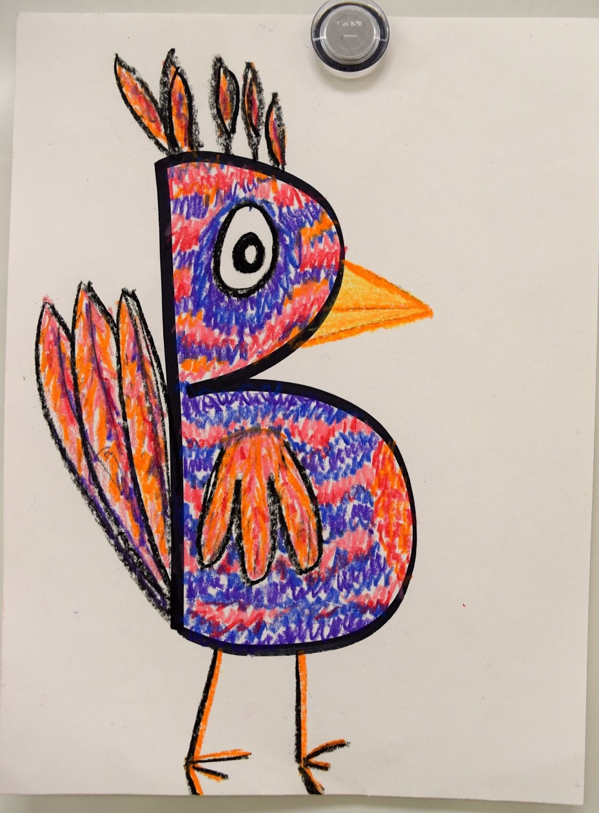 Creative Letter Drawings 1st