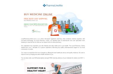 PharmaLine Affiliate Template