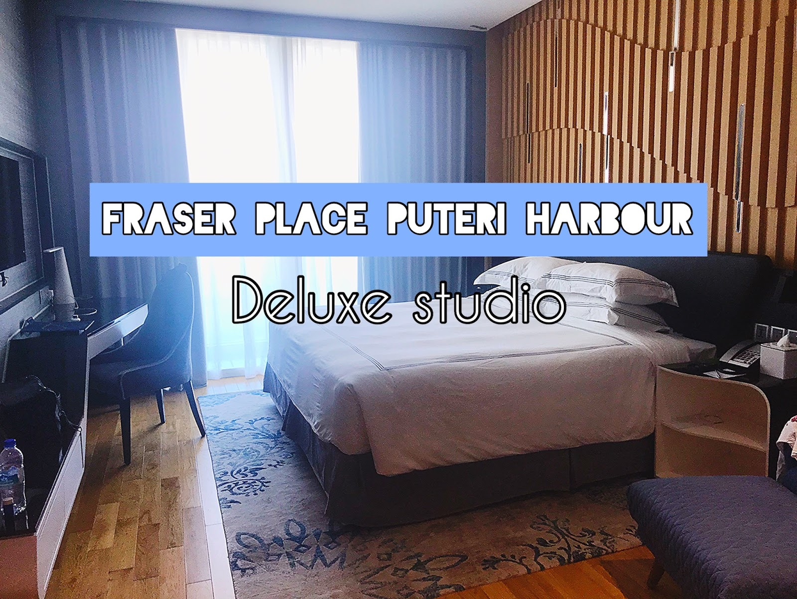 fraser place puteri harbour, malaysia, hotel review, deluxe studio