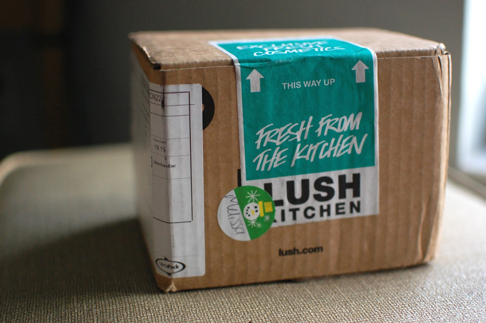 The Redolent Mermaid: Lush Kitchen UK: 1st Order