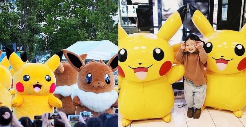 Pikachu OutBreak 2019 at Yokohama