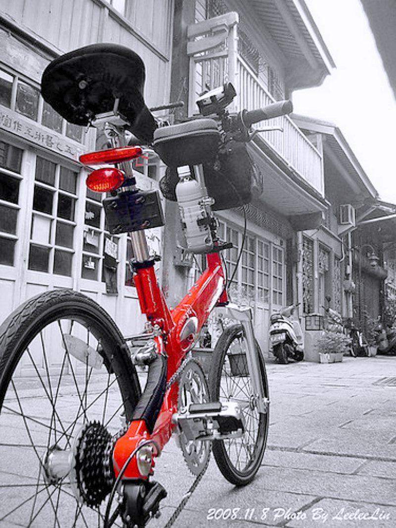 台南海安街道美術館神農街藍晒圖~單車悠遊藝術與古蹟趣