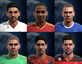 Facepack good quality x6 Pes 2013
