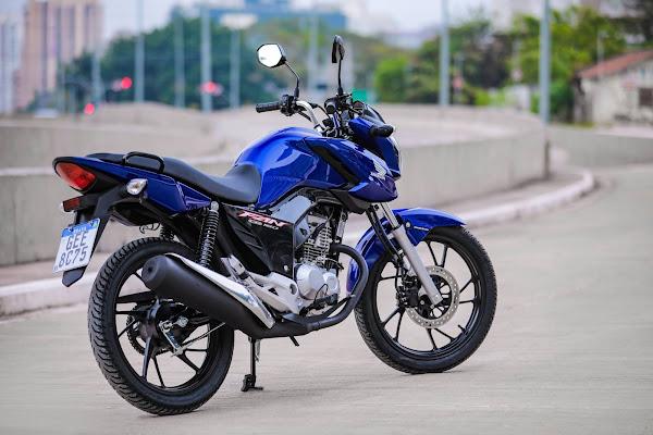 Honda CG 160 2022 - Fan Azul