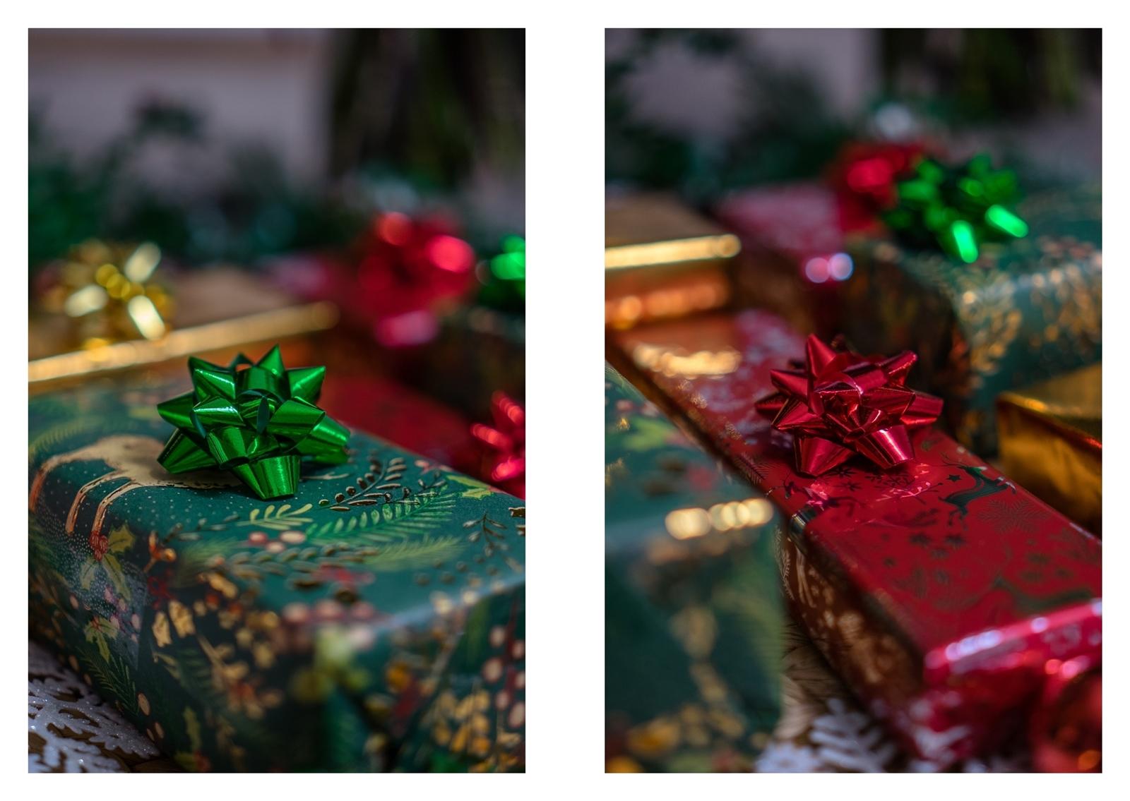 Jak zapakować prezent w papier pakowy Inspiracje na eleganckie prezenty pod choinkę  gdzie kupić ładny papier pakowy, w sarny, złoty, czerwona folia, świąteczne prezenty  krok po kroku.